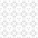 Modelo del garabato inconsútil ilustración del vector