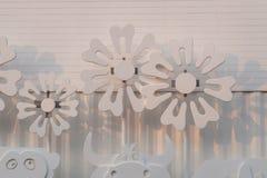 Modelo del girasol en la pared. Fotografía de archivo libre de regalías