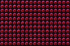 Modelo del gráfico de los pernos de conexión de la CPU Fotografía de archivo libre de regalías