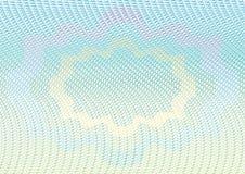 Modelo del guilloquis ilustración del vector