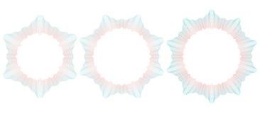 Modelo del guilloquis para el certificado Ilustración del vector Foto de archivo libre de regalías