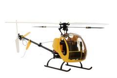 Modelo del helicóptero Fotos de archivo