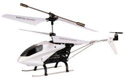 Modelo del helicóptero aislado Imagenes de archivo