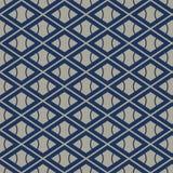 Modelo del hexágono del añil de Apanese libre illustration
