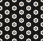 Modelo del hex?gono del vector Textura inconsútil hexagonal minimalista geométrica del extracto libre illustration