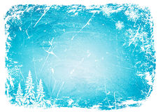 Modelo del hielo del grunge del fondo Ilustración del vector Imágenes de archivo libres de regalías