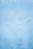 Modelo del hielo sobre el vidrio Imagenes de archivo