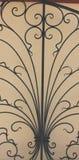 Modelo del hierro labrado Fotografía de archivo