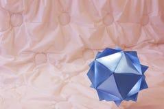 Modelo del Icosahedron Imágenes de archivo libres de regalías
