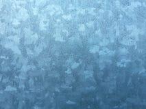 Modelo del invierno sobre el vidrio foto de archivo libre de regalías