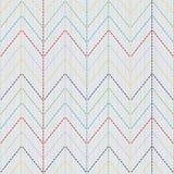 Modelo del kimono Adorno de Sashiko Textura inconsútil Fotos de archivo libres de regalías