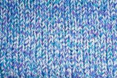 Modelo del Knit Imagenes de archivo