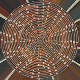 Modelo del ladrillo foto de archivo libre de regalías