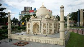 Modelo del lego de Taj Mahal Imágenes de archivo libres de regalías