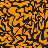 Modelo del leopardo, repitiendo el fondo del vector Fotografía de archivo