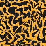 Modelo del leopardo, repitiendo el fondo del vector Imágenes de archivo libres de regalías
