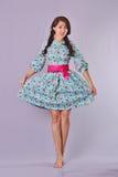 modelo del Lolita-estilo, fondo indoor Fotografía de archivo