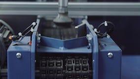 Modelo del manipulante del robot industrial Cadena de producción con el manipulante del robot
