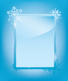 Modelo del marco de helada Imagen de archivo libre de regalías
