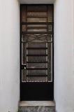 Modelo del marco de puerta del metal Imágenes de archivo libres de regalías