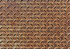 Modelo del metal de la placa del diamante Imagen de archivo libre de regalías