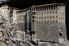 Modelo del monasterio de Sumela fotos de archivo