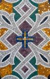 Modelo del mosaico de piedra. Foto de archivo