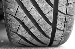 Modelo del neumático Fotos de archivo libres de regalías