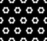 Modelo del octágono, hexágonos ondulados libre illustration