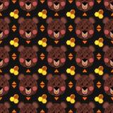 Modelo del oso de Brown Imagen de archivo libre de regalías