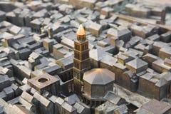 Modelo del palacio en fractura, Croatia de Diocletian Foto de archivo libre de regalías