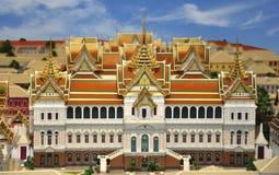 Modelo del palacio magnífico Foto de archivo libre de regalías