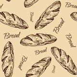 Modelo del pan Imagen de archivo