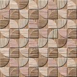 Modelo del panel de pared interior - textura de madera arruinada del surco del roble libre illustration