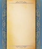 Modelo del papel en blanco de la vendimia Fotografía de archivo libre de regalías