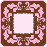 Modelo del papel pintado floral del vector Fotos de archivo