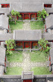 Modelo del patio Foto de archivo