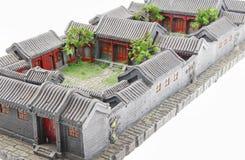 Modelo del patio Imagen de archivo libre de regalías