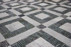 Modelo del pavimento del guijarro de Chongqing Dadukou District Park Imagenes de archivo