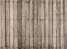 Modelo del piso de puente de madera viejo Imagen de archivo libre de regalías