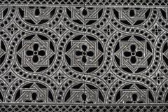 Modelo del piso del metal con simetría fotos de archivo