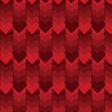 Modelo del Pixel-arte del corazón Imagen de archivo