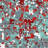 Modelo del pixel de la Navidad Foto de archivo libre de regalías