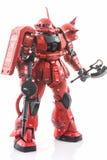 Modelo del plástico de Gundam Imagenes de archivo