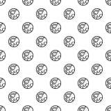 Modelo del planeta del plutón inconsútil ilustración del vector