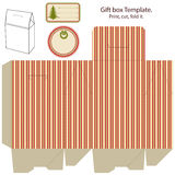 Modelo del rectángulo de regalo. libre illustration