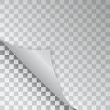 Modelo del relleno doblado de la esquina gratis del color azul Ilustración del vector ilustración del vector