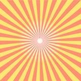 Modelo del resplandor solar de Sun Ilustración del vector Foto de archivo libre de regalías