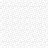 Modelo del rompecabezas Cada pedazo es una sola forma Imagenes de archivo