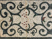 Modelo del símbolo del mosaico de los guijarros Foto de archivo libre de regalías